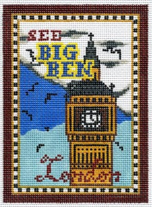 click here to view larger image of London - Big Ben (hand painted canvases)
