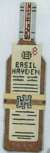 click here to view larger image of Bourbon Basil Hayden (hand painted canvases)
