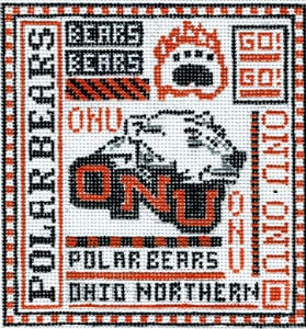 click here to view larger image of Ohio Northern University (hand painted canvases)