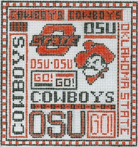 click here to view larger image of Oklahoma State University (hand painted canvases)