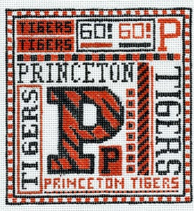 click here to view larger image of Princeton (hand painted canvases)