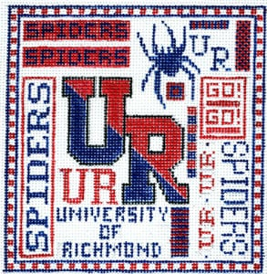 click here to view larger image of University of Richmond (hand painted canvases)