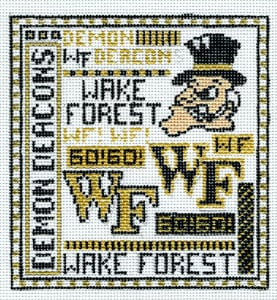 click here to view larger image of Wake Forest (hand painted canvases)
