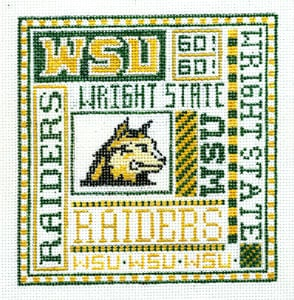 click here to view larger image of Wright State (hand painted canvases)