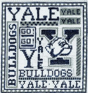 click here to view larger image of Yale (hand painted canvases)