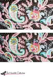 click here to view larger image of Italian Paisley (hand painted canvases)