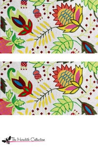 click here to view larger image of Tropical Jewels (hand painted canvases)