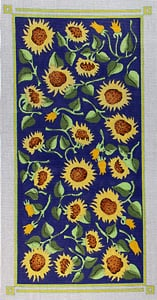 click here to view larger image of Sunflower Garden (hand painted canvases)