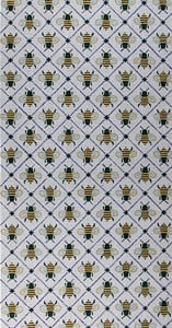 click here to view larger image of Busy Bees (hand painted canvases)