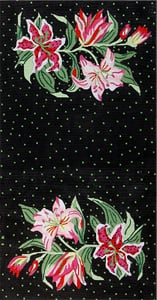 click here to view larger image of Tiger Lilies (hand painted canvases)