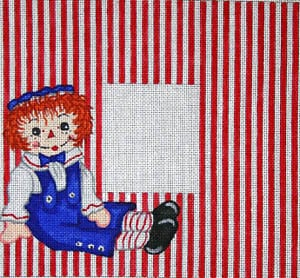 click here to view larger image of Raggedy Andy (hand painted canvases)
