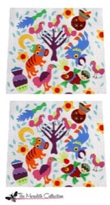 click here to view larger image of Wild Ones (hand painted canvases)