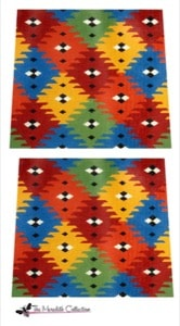 click here to view larger image of Kilim (hand painted canvases)