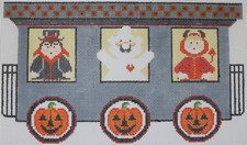 click here to view larger image of Halloween Train - Car 2 (hand painted canvases)