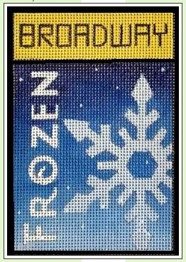 click here to view larger image of Broadway - Frozen (hand painted canvases)