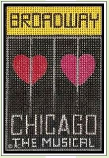 click here to view larger image of Broadway - Chicago (hand painted canvases)