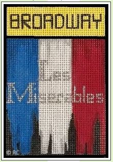 click here to view larger image of Broadway - Les Miserables (hand painted canvases)