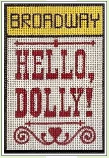click here to view larger image of Broadway - Hello Dolly (hand painted canvases)
