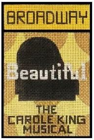 click here to view larger image of Broadway - Beautiful (hand painted canvases)