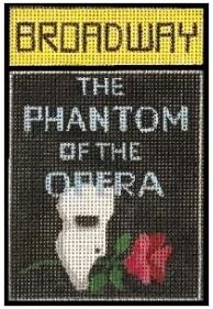 click here to view larger image of Broadway - Phantom of the Opera (hand painted canvases)