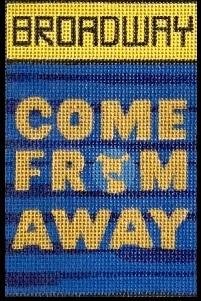 click here to view larger image of Broadway - Come From Away (hand painted canvases)