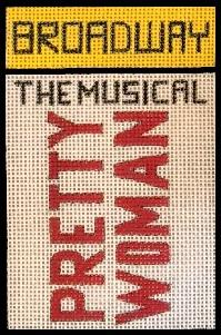 click here to view larger image of Broadway - Pretty Woman (hand painted canvases)