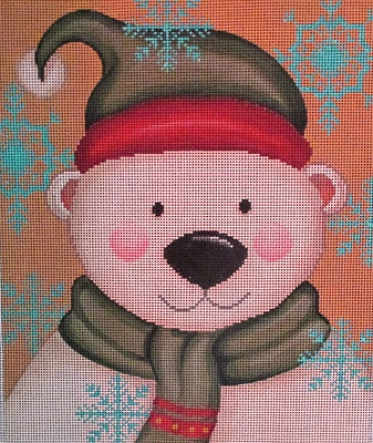 click here to view larger image of Vintage Polar (hand painted canvases)