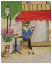 click here to view larger image of Coffee Shoppe (hand painted canvases)