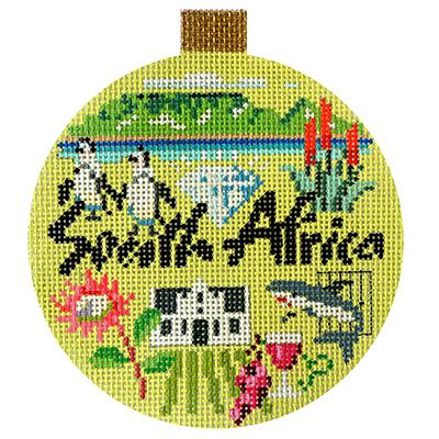 click here to view larger image of South Africa - Travel Round (hand painted canvases)