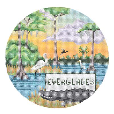 click here to view larger image of Explore America - Everglades (hand painted canvases)