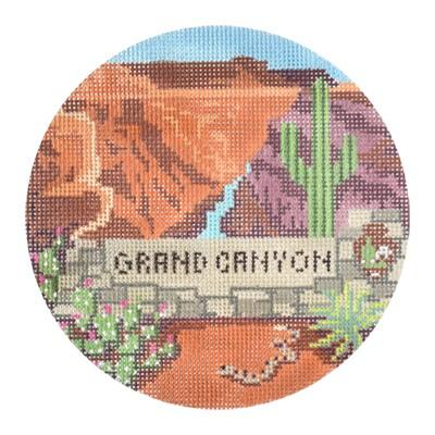 click here to view larger image of Explore America - Grand Canyon (hand painted canvases)
