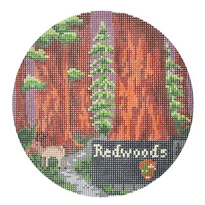 click here to view larger image of Explore America - Redwoods (hand painted canvases)