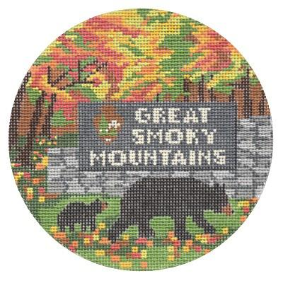 click here to view larger image of Explore America - Great Smoky Mountains (hand painted canvases)