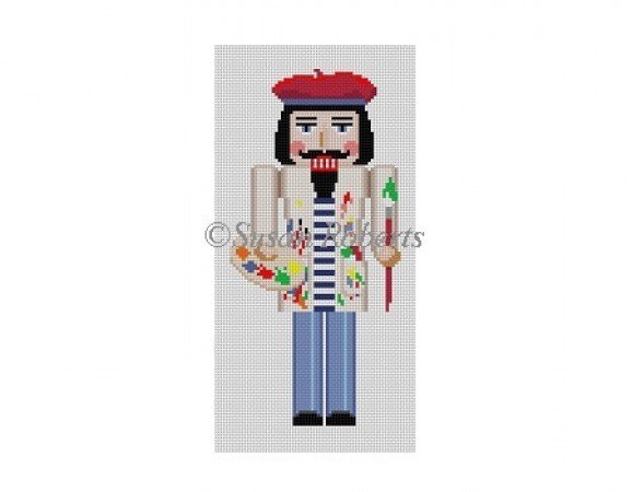 click here to view larger image of Nutcracker Artist (hand painted canvases)