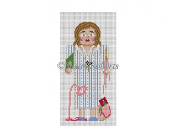 click here to view larger image of Nutcracker Needlepointer (hand painted canvases)