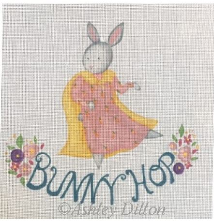 click here to view larger image of Bunny Hop (hand painted canvases)