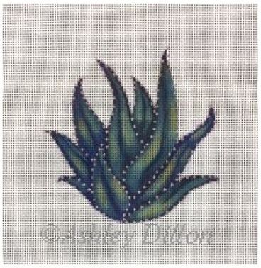 click here to view larger image of Torch Plant (hand painted canvases)