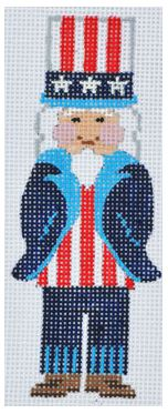 click here to view larger image of Uncle Sam  (hand painted canvases)