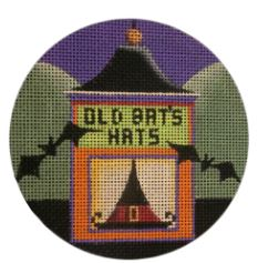 click here to view larger image of Old Bat's Hats (hand painted canvases)