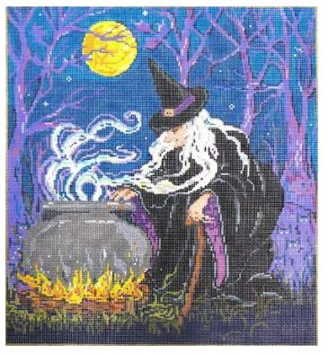 click here to view larger image of Magic Mishchief (hand painted canvases)