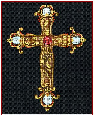 click here to view larger image of Tudor Cross (None Selected)