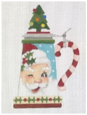 click here to view larger image of Santa Stein (hand painted canvases)
