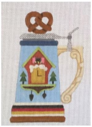 click here to view larger image of German Stein (hand painted canvases)