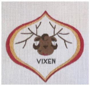 click here to view larger image of Vixen (hand painted canvases)