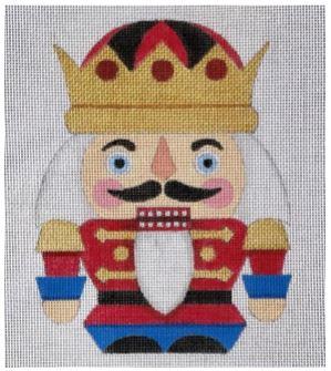 click here to view larger image of Short Nutcracker (hand painted canvases)