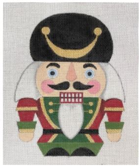 click here to view larger image of Short Nutcracker 2 (hand painted canvases)