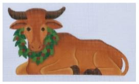 click here to view larger image of Small Ox (hand painted canvases)