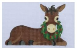 click here to view larger image of Small Donkey (hand painted canvases)