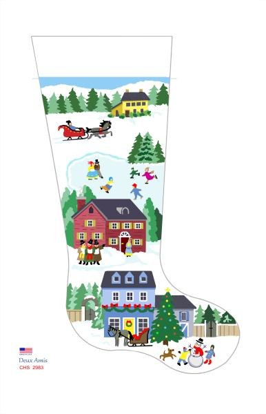 click here to view larger image of Town & Country Holiday - 13M (None Selected)