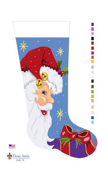 click here to view larger image of Santa Profile - 13M (None Selected)